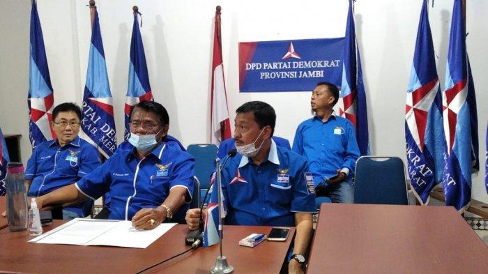 Pengurus Jambi Dukung Langkah DPP Pecat 6 Anggota Partai Demokrat Yang Ingin Kudeta AHY
