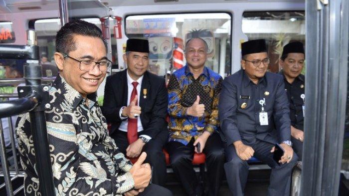 Pertama di Indonesia, Capsule Bus Koja Trans Resmi Beroperasi, Fasha Luncurkan Bus Berbasis Digital