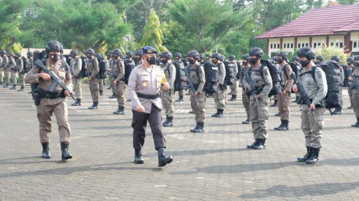 Kapolda Jambi Minta Personel Brimob Operasi Madago Jaya Kedepankan HAM saat Bertugas di Poso