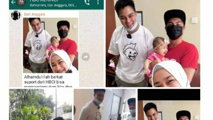 Caesa Bayi Penderita Gangguan Hati Asal Sungaipenuh Ditemui Baim Wong