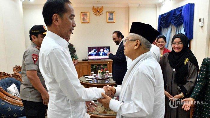 10 Janji Politik Jokowi-Maruf Amin, Menang Pilpres 2019 Ini yang Akan Dilakukan