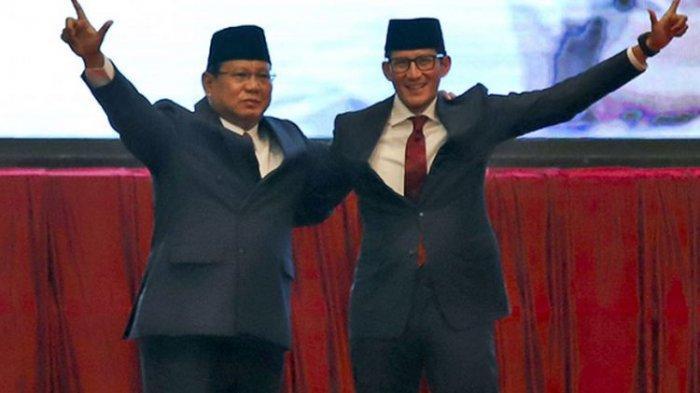Pasangan Capres Nomor Urut 02 Prabowo Subianto-Sandiaga Uno Akan Kampanye di GBK Pada 7 April