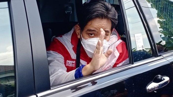Wali Kota Solo terpilih Gibran Rakabuming Raka saat blusukan perdana di perumahan Banyuagung, Kecamatan Banjarsari, Kota Solo, Senin (21/12/2020).