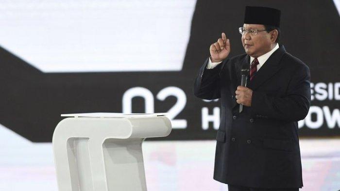 Debat Keempat Pilpres 2019, Prabowo Subianto Sebut Praktik Korupsi di Pemerintahan Sudah Stadium 4