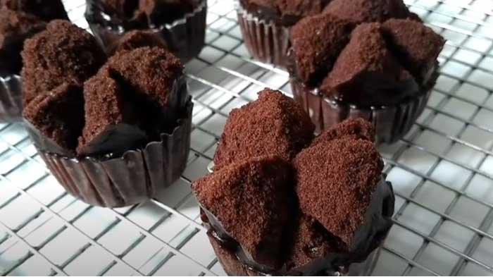 Resep Bolu Kukus Brownies Mekar, Tanpa Mixer Tanpa Oven