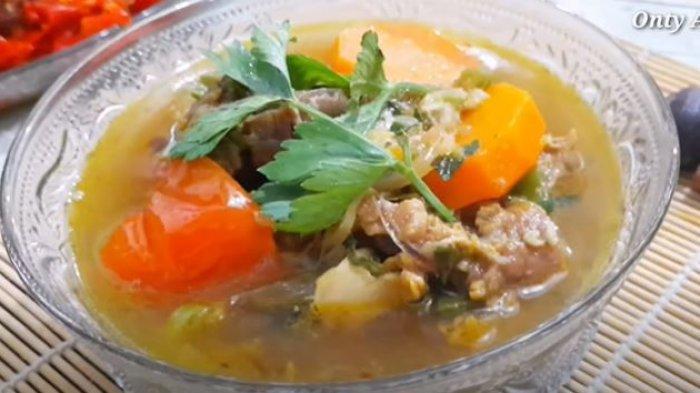 Resep Sop Daging Sapi, Tambahkan Cengkeh, Kayumanis dan Pala Bubuk