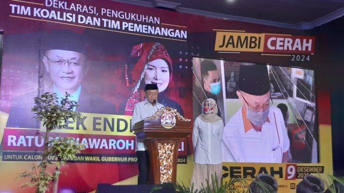 BREAKING NEWS Partai Nasdem Resmi Ikut Usung Cek Endra dan Ratu Munawaroh