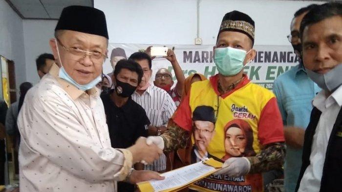 Syarif Fasha Batal Nyalon, Tim Pemenangan Ganti Dukung Cek Endra- Ratu Munawaroh di Pilkada Jambi
