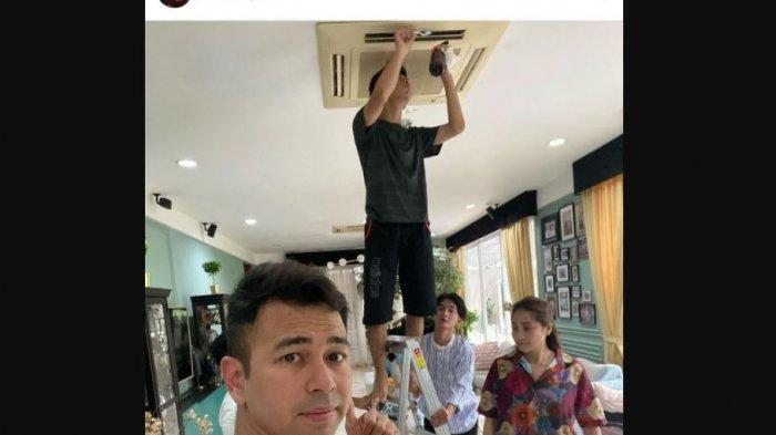 raffi Ahmad membagikan foto soal aktifitas Dimas