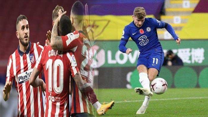 Head to Head dan Starting Line Up Chelsea vsAtletico Madrid di Liga Champions Malam Ini
