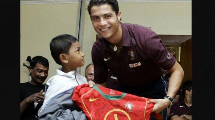 Nasib Anak Angkat Cristiano Ronaldo di Indonesia, Penampilan Martunis Kini Sepulang dari Portugal