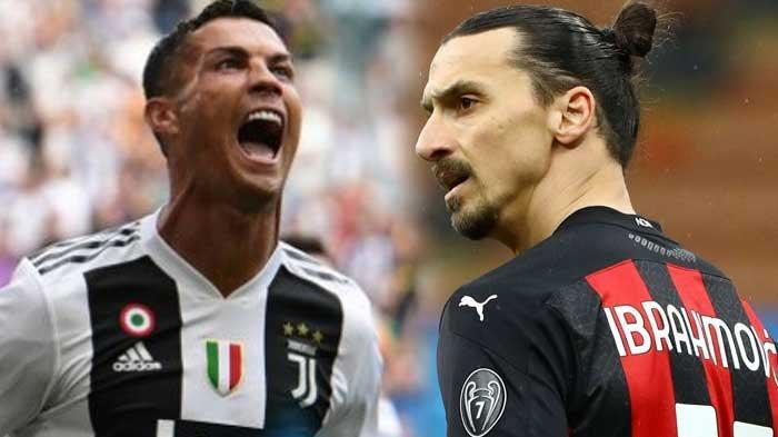 LINK NONTON Juventus vs AC Milan di Liga Italia, Live Streaming Bein Sport 2, Ronaldo vs Ibrahimovic