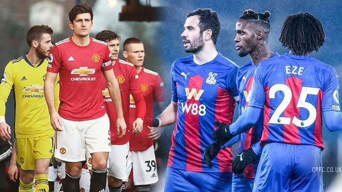 Hasil Liga Inggris - Man United Ditahan Imbang Palace, Setan Merah Gagal Pangkas Poin dari Man City