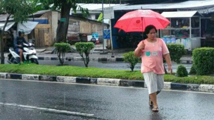 Waspada! Wilayah Jambi Bagian Barat Hingga Timur Berpotensi Hujan Petir