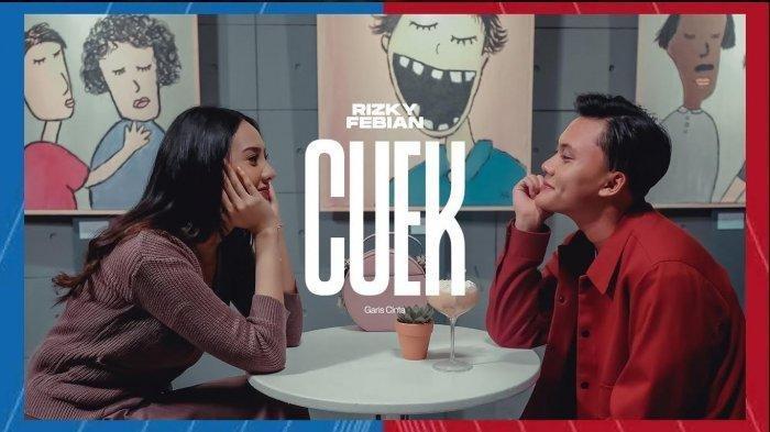 Chord Kunci Gitar Lagu Cuek - Rizky Febian, Lengkap dengan video dan Lirik: Mana Ada Aku Cuek