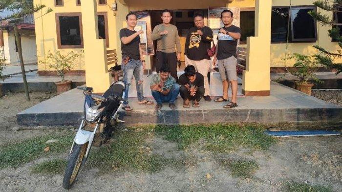 Curi Motor Milik Tetangga di Desa Lubuk Mandarsah Tebo, Rizki Saputra Ditangkap