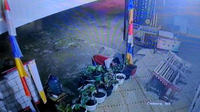 Aksi bocah terekam CCTV nekat yang mencuri tanaman hias milik warga sekitar. Tanaman hias yang dicuri, Bunga Keladi Wayang dan Bunga Read Sumatera