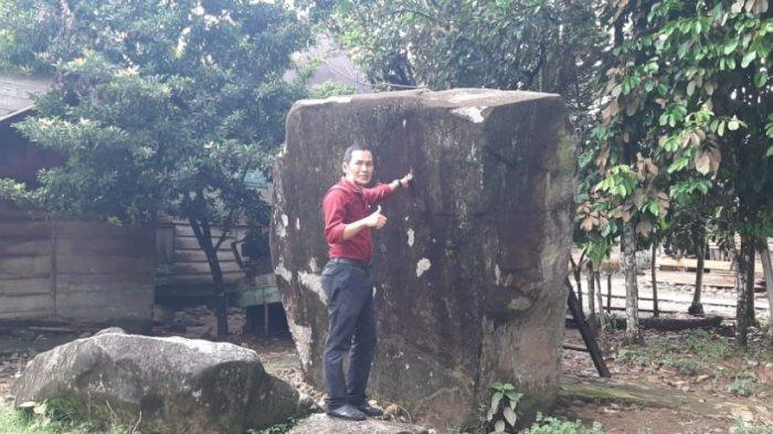 Jejak Harimau Membekas di Batu Pecah Sembilan di Senamat Ulu Jambi