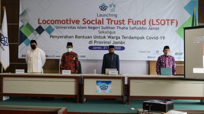 UIN STS Jambi Launching LSOFT, Prof H Su'aidi: LSOFT adalah Sebuah Lembaga Sosial