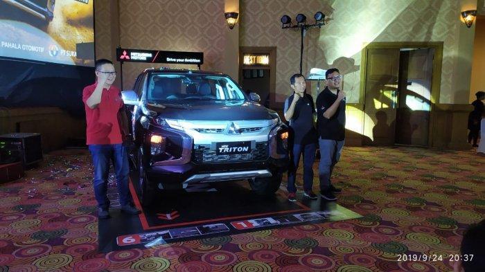 PT MMKSI Perkenalkan Mitsubishi New TRITON di Kota Jambi