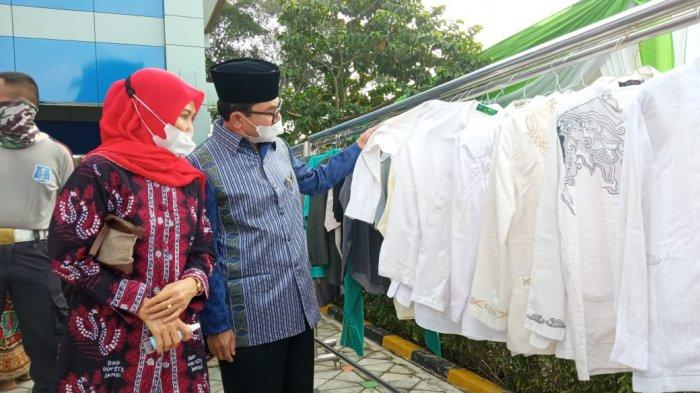 Dalam Gebyar Ramadhan di Kota Jambi, Masyarakat Boleh Ambil 3 Barang Layak Pakai