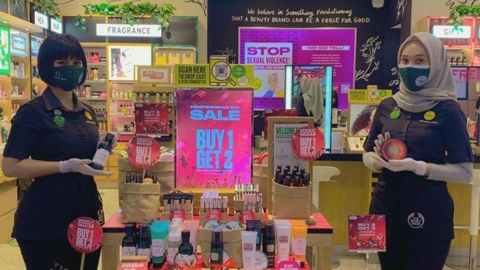 Dalam Rangka Hari Kemerdekaan, The Body Shop Hadirkan Berbagai Promo Menarik