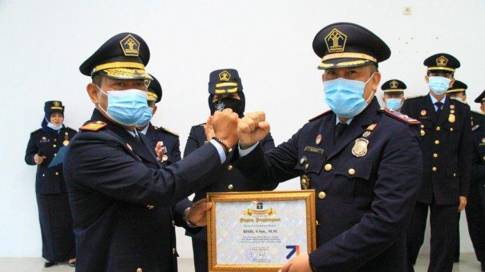 Peringati Puncak HBI Ke-71, Imigrasi Jambi Gelar Upacara Secara Virtual