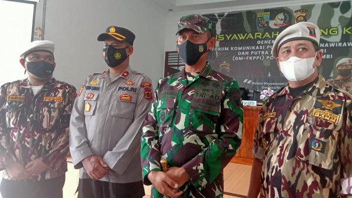 Dandim 0415/Bth Resmi Buka Muscab GM-FKPPI Kota Jambi