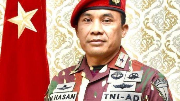 Siapa Sebenarnya Brigjen TNI Mohamad Hasan Danjen Kopassus yang Baru, Misi 19 Negara