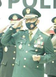 Hadiri HUT Bhayangkara ke-74, Danrem 042/Gapu Siap Jaga Sinergitas TNI-Polri