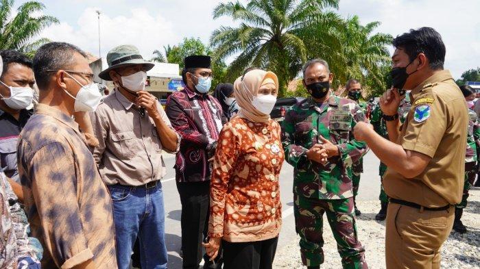 Danrem Dampingi PJ Gubernur Cek Sejumlah TPS PSU Pilgub Jambi