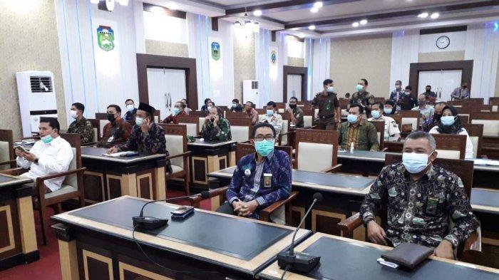 Acara di Ruang Pola Kantor Gubernur Jambi