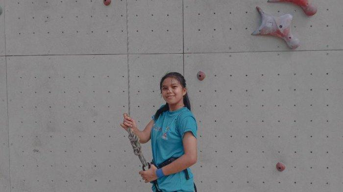 Clara Alyuson, Atlet Belia Cantik Andalan Panjat Tebingnya FPTI Kota Jambi