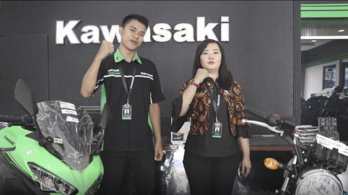 Eratkan Silaturahmi, Kawasaki Seluber Anugerah Adakan Sunmori dan Gathering Bersama Konsumen