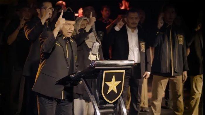 Deklarasi Partai Ummat yang ditayangkan di channel youtube Amien Rais Official