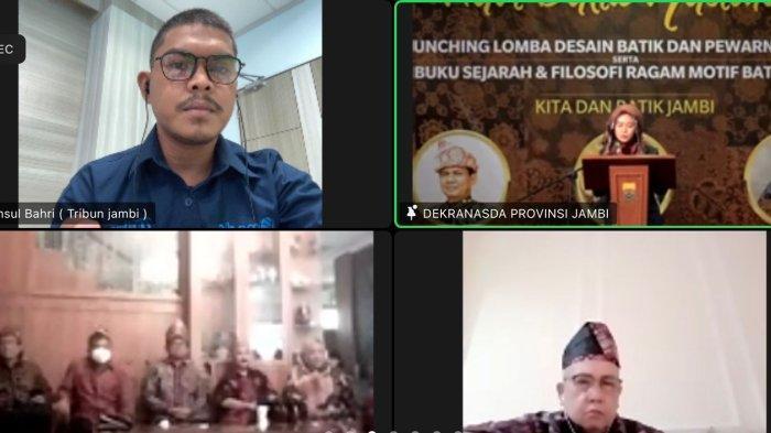 Ketua Dekranasda Provinsi Jambi Hesnidar Al Haris Apresiasi Peluncuran Buku Batik