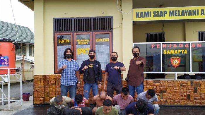 Delapan Pelaku Penyerangan Mobil Bea Cukai Riau Berhasil Ditangkap Satreskrim Polres Kerinci