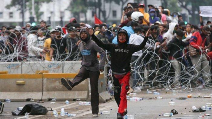 Kronologi Kerusuhan di Monas Jakarta, Ada yang Jadi Provokator dan Jadi Perusuh