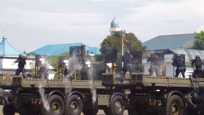 Jamuan Ekstrem untuk Jenderal AS, Ketar-ketir Lihat Denjaka Tembak-tembakan Pakai Peluru Asli