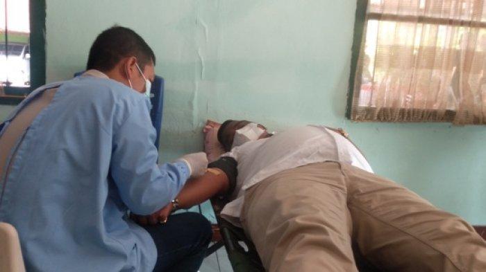 HUT Pomad ke-75, Denpom II/2 Jambi Gelar Donor Darah Bertajuk Darahku Bukti Cinta untuk Sesama