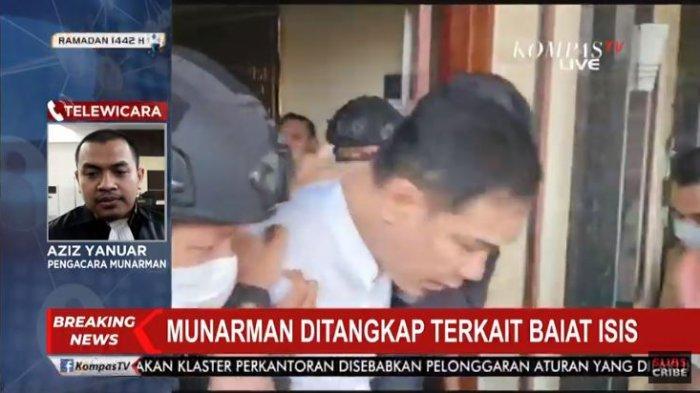 Eks Petinggi FPI Ditangkap Densus 88, Kuasa Hukum Siapkan Pendampingan Untuk Munarman
