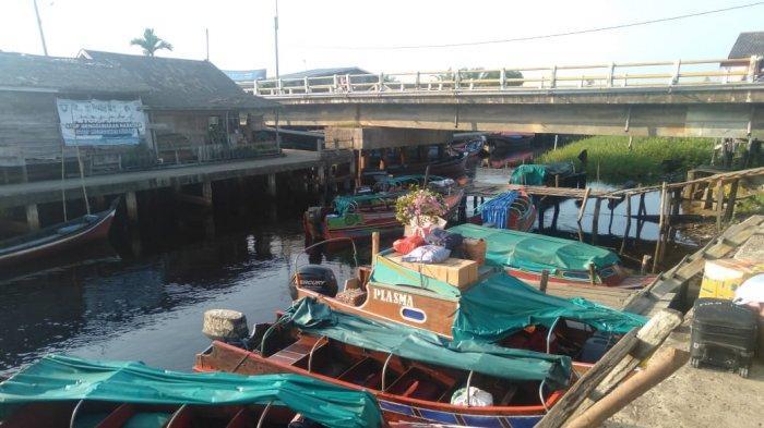 Penambang Speedboat di Mendahara Ulu Mengeluh, Pendapatan Berkurang Akibat Pandemi Covid-19