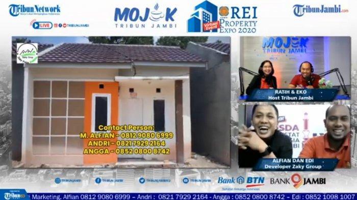 Cukup Rp 3,5 Juta, Zaky Grup Sediakan Rumah Subsidi di Tengah Kota