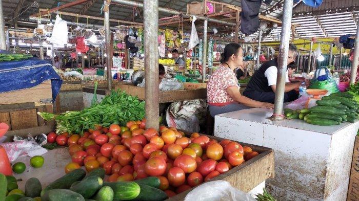 Meski Kota Jambi Sudah New Normal, Pedagang Pasar Angso Duo Keluhkan Sepi Pembeli