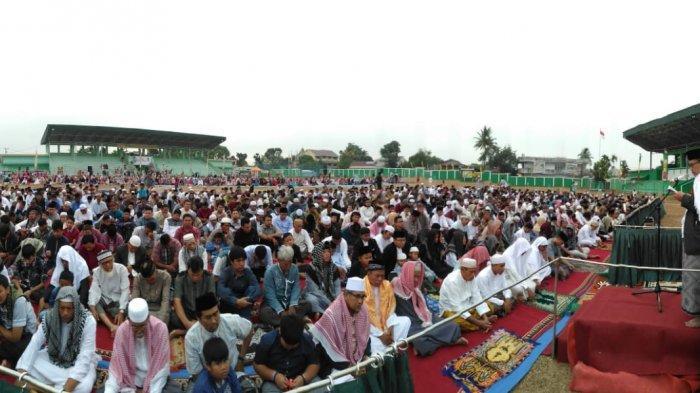 DPW LDII Jambi Gelar Shalat Idul Adha Dan Potong 464 Hewan Qurban