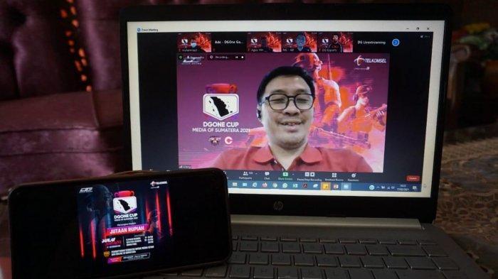 Tingkatkan Adopsi Layanan Digital, Telkomsel Hadirkan Kompetisi Game Online DGOne Cup Media Sumatera