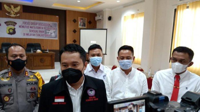 Pelaku Kekerasan Terhadap Anak di Tanjung Jabung Barat, 70 Persen Dilakukan Orang Terdekat