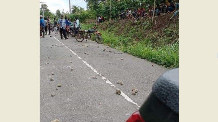 BREAKING NEWS Dua Desa di Kerinci Nyaris Bentrok, Diduga Persoalan Tanah, Puluhan Orang Bawa Tombak