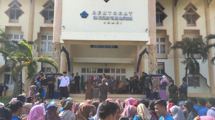 Ada Dugaan Pelecehan Seksual di UIN STS Jambi, Mahasiswa Demo, Rektorat Lapor Kementerian