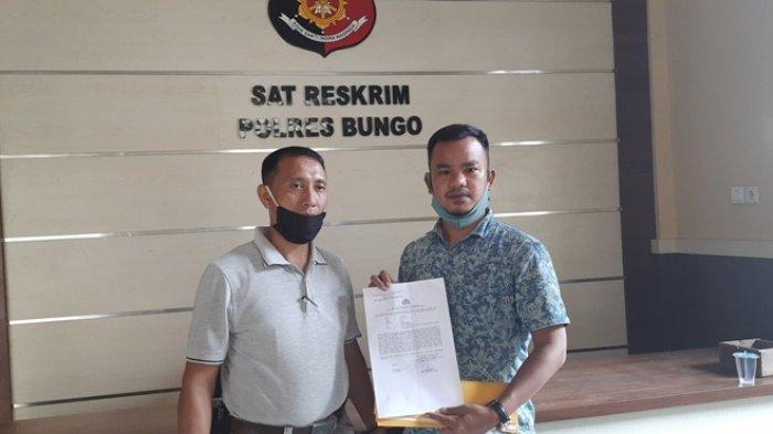 Diduga Pencemaran Nama Baik Erick Muhammad Henrizal, Akun Promag Bungo Resmi Dilaporkan ke Polisi